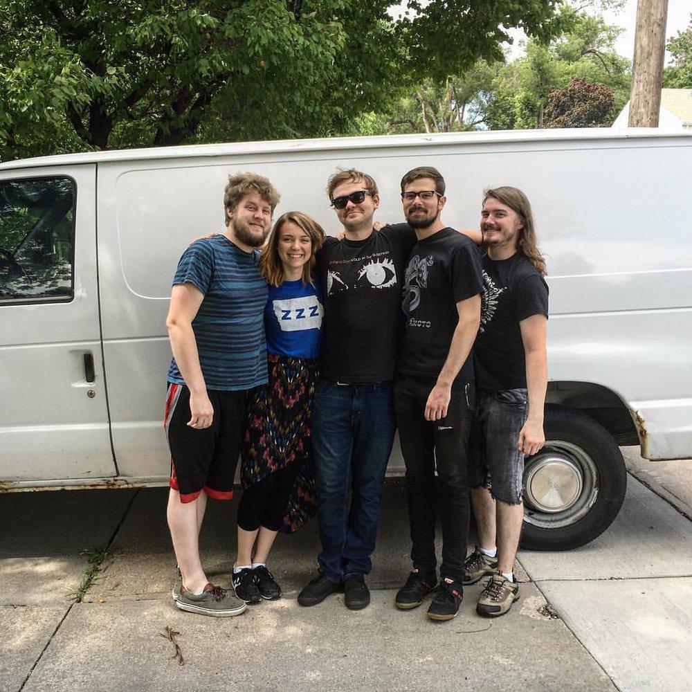 Last day of tour survival smiles