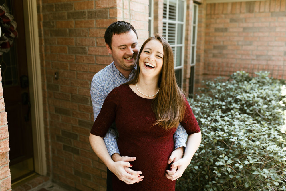 Atascocita Lifestyle Maternity Session | Houston Photographer | www.jordanmitchellphotography.com