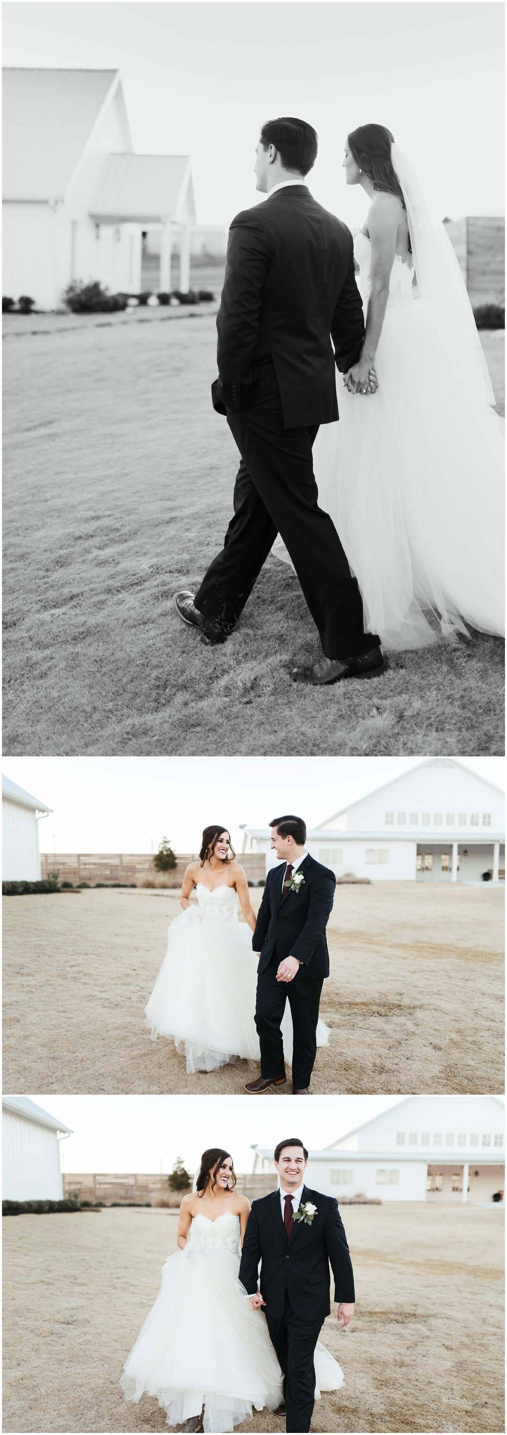 The Farmhouse, Montgomery, TX | Elegant, Rustic Farmhouse Wedding | Houston Wedding Photographer | www.jordanmitchellphotography.com