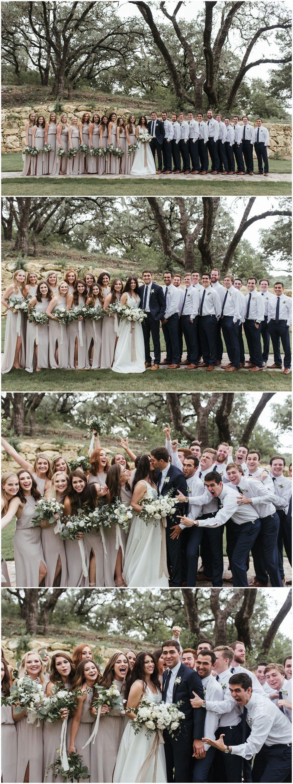Hidden Falls Wedding | Kennedi+Marshall | Fort Worth Wedding Photographer | www.jordanmitchellphotography.com