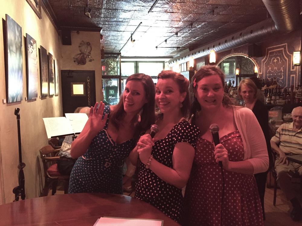 Cyndi Carleton, Rachelle Boudreau and Kate Proctor