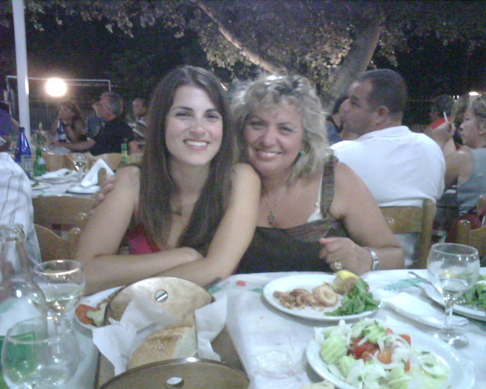 Nameday  celebration at the Taverna in Halkidiki, Greece
