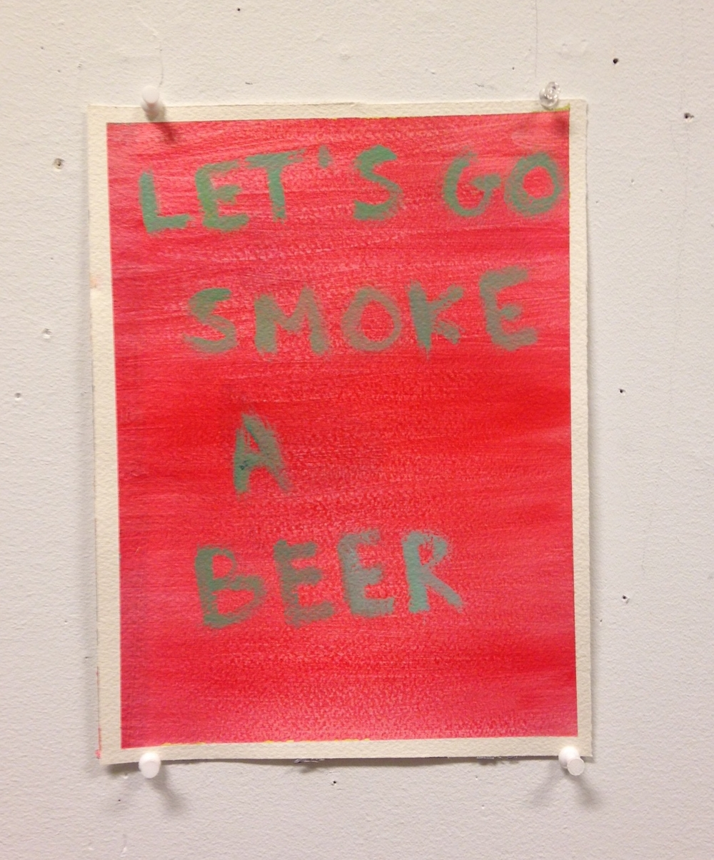 Let's Go Smoke A Beer