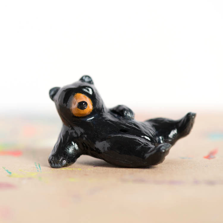 Le Tumblin' Bear Totem - Black Bear Limited Edition