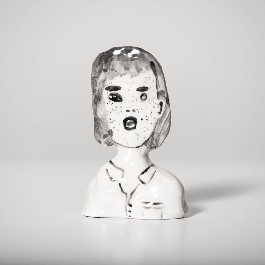 """Laura Johnston Ceramic, ~2.5"""" 2018"""