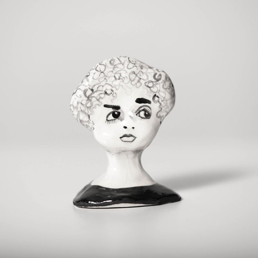 """Laura Johnston Ceramic, ~2"""" 2018"""