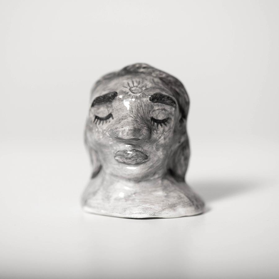 """Laura Johnston Ceramic, ~1.5"""" 2018"""