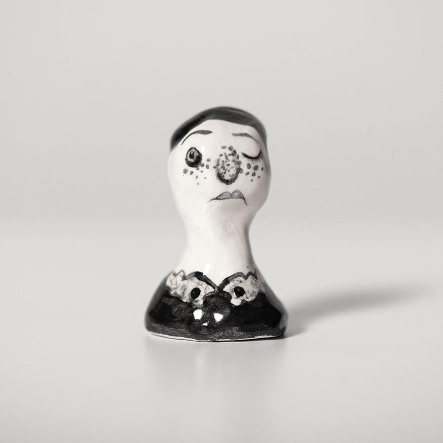 """Laura Johnston Ceramic, ~1.5"""" 2019"""