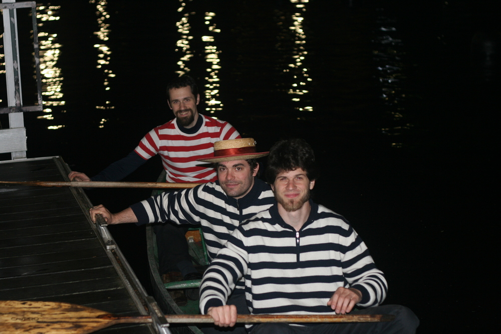 Gondoliers in canoe 05302014.jpeg