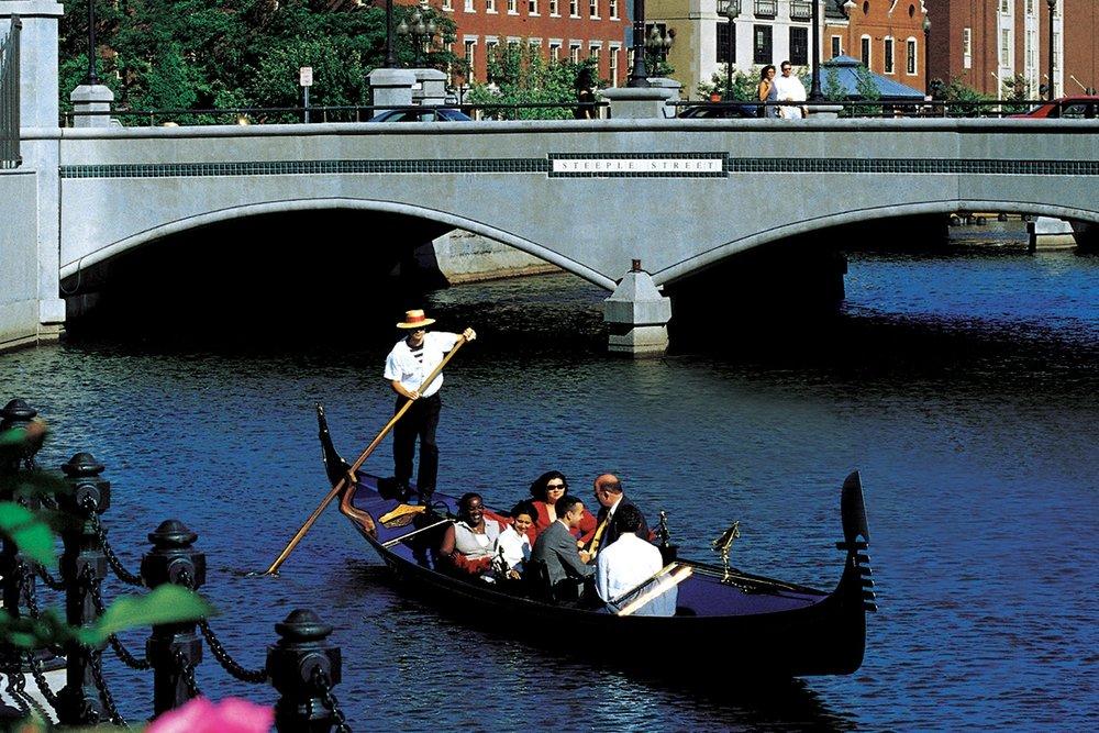 Gondola rides in boston