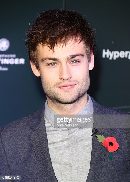 Douglas Booth - BIFA 2016 Nominations