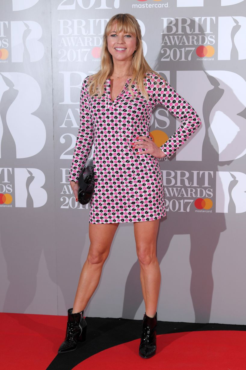 Sara Cox - The Brit Awards 2017