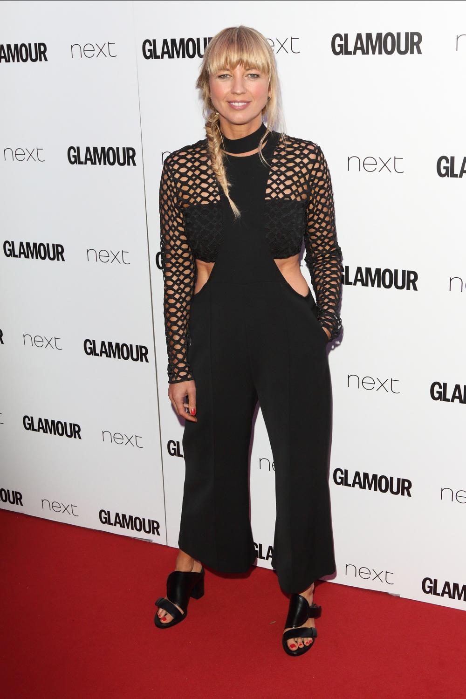 Sara Cox - Glamour Awards 2017