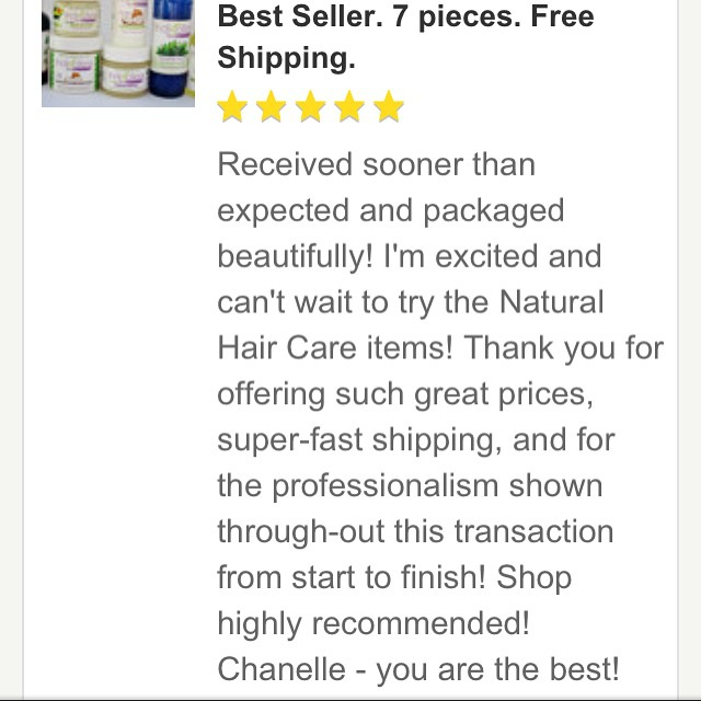 See what our clients are saying! So grateful for this glowing product review from our Etsy shop. #IndigoferaBeauty #realplantbasedhaircare #naturalhair #Etsy #entrepreneur #naturalbeauty #coilyhair #kinkyhair #locs #naturalstylist #naturalhairproducts #smallbusiness