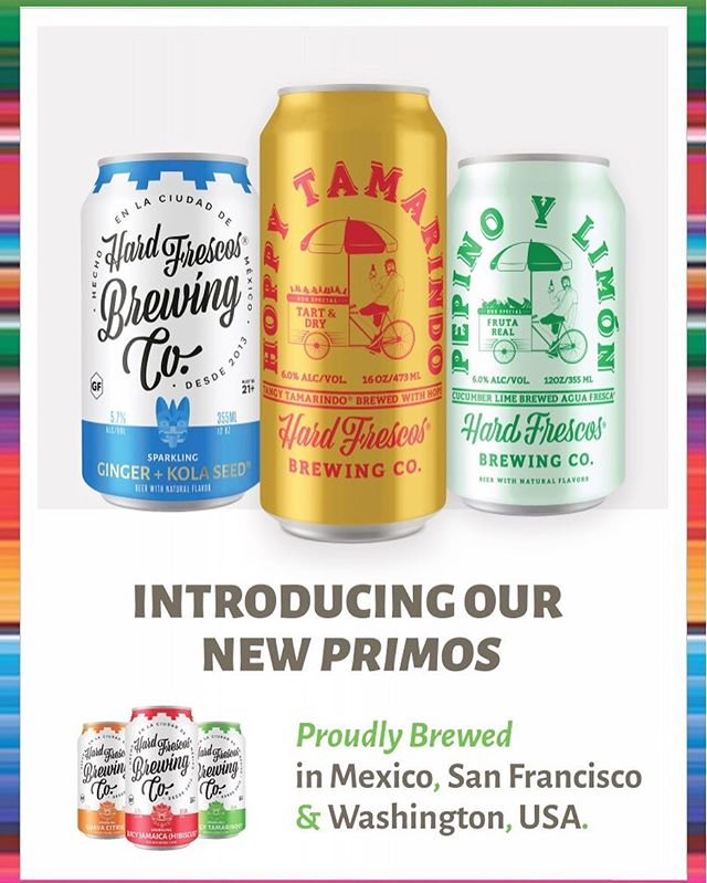 Stop by our Taproom and try our new seasonal brews on draft. Cans coming soon! #hechoenmexico #pepinolimon #tamarind #craftnotcrap