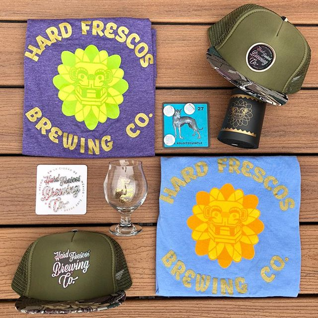 Giveaway time!! Want to win all the latest Hard Frescos gear? 1) Follow us here 2) post a pic with our cans wherever your activities and adventures take you and 3) tag a friend and tag us so we see it. We'll pick a winner on July 31st and send you everything pictured here. Game on! Salud! #craftnotcrap #beerporn #northernnights #outsidelands #hechoenmexico #surfing #surpriseinside