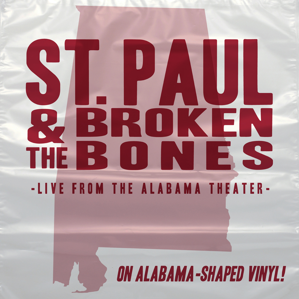 SL007:   St. Paul & the Broken Bones-  Live from the Alabama Theatre  (Record Store Day 2015)