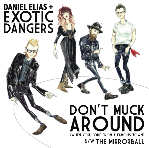 SL009:  Daniel Elias + Exotic Dangers -  Don't Muck Around b/w Mirrorball