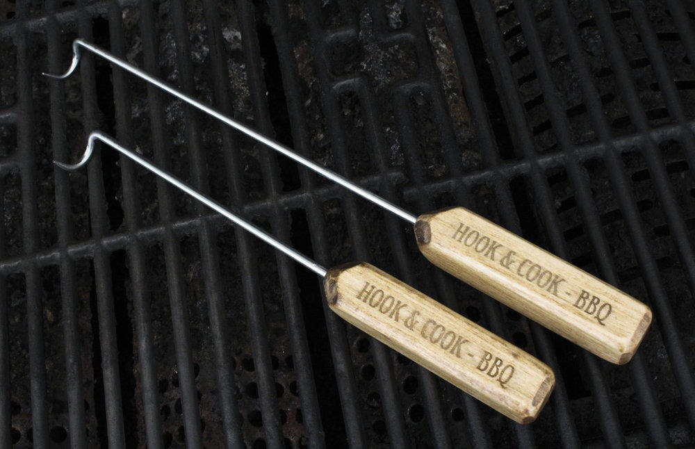 Hook and Cook BBQ Tool