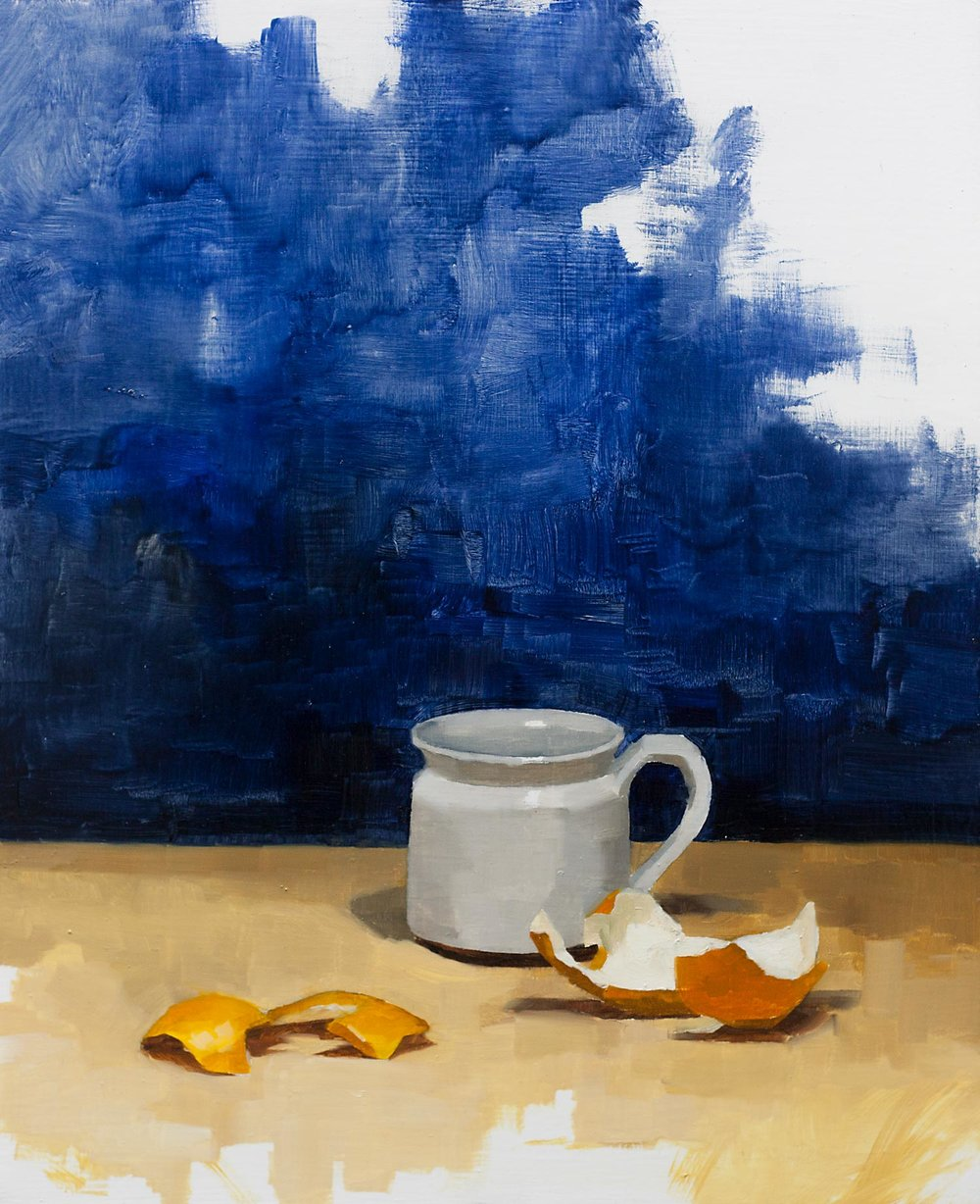 Cup and Orange Peel