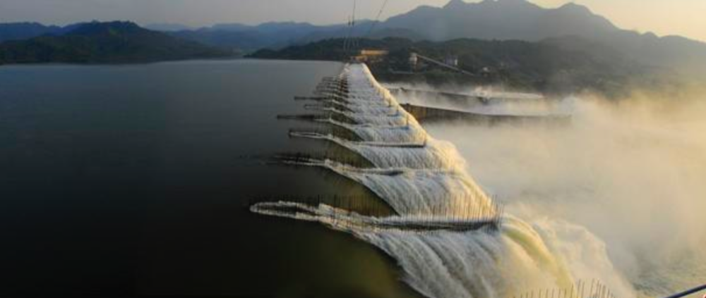 The largest dam project on the Narmada River: the Sardar Sarovar Project (SSP).