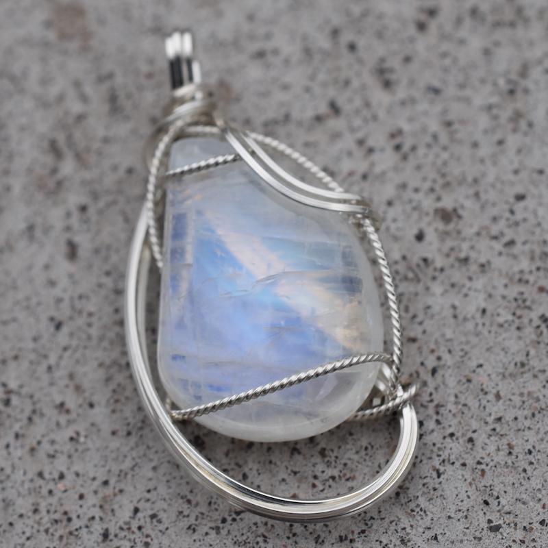 Moonstone (India) & Silver