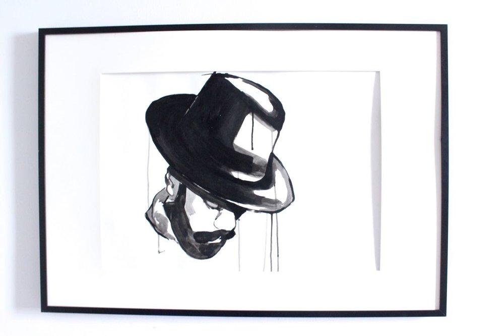 Copy of Beard, 2015. Ink on paper. 24x36