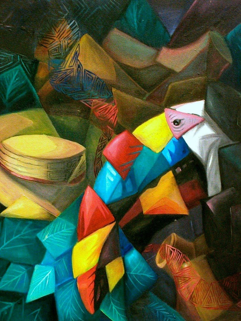Tucan, 2004. Oil on canvas. 24x18