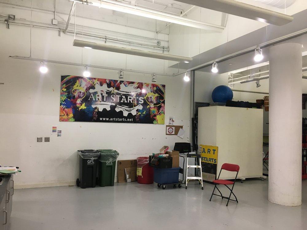 Copy of Art Starts Studio, 2017
