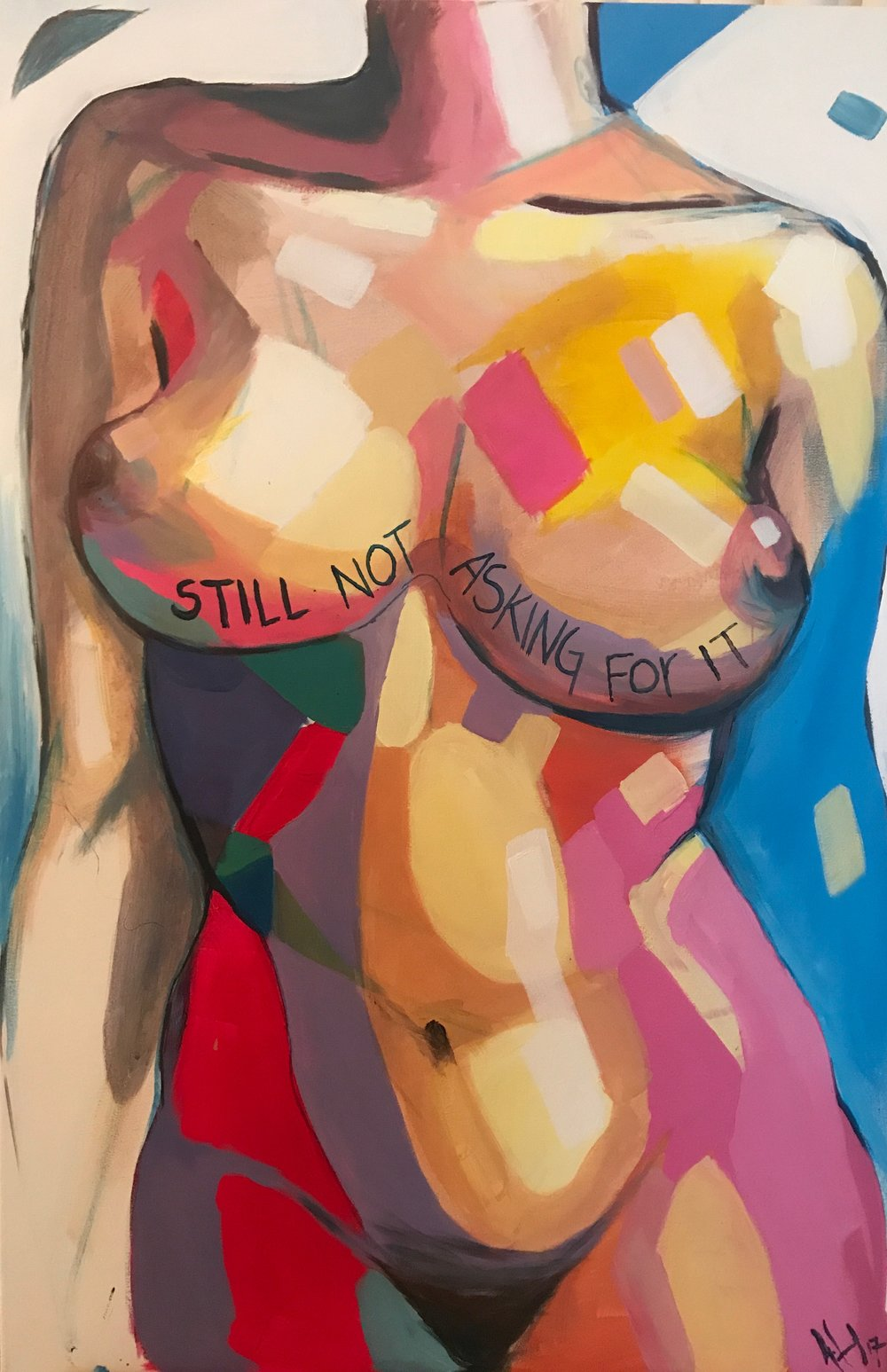 Copy of Still Not Asking for it, 2018