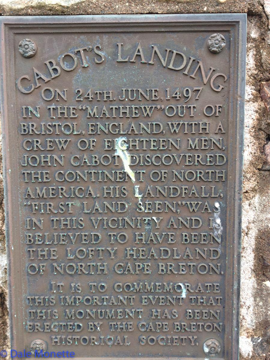 Cabots Landing