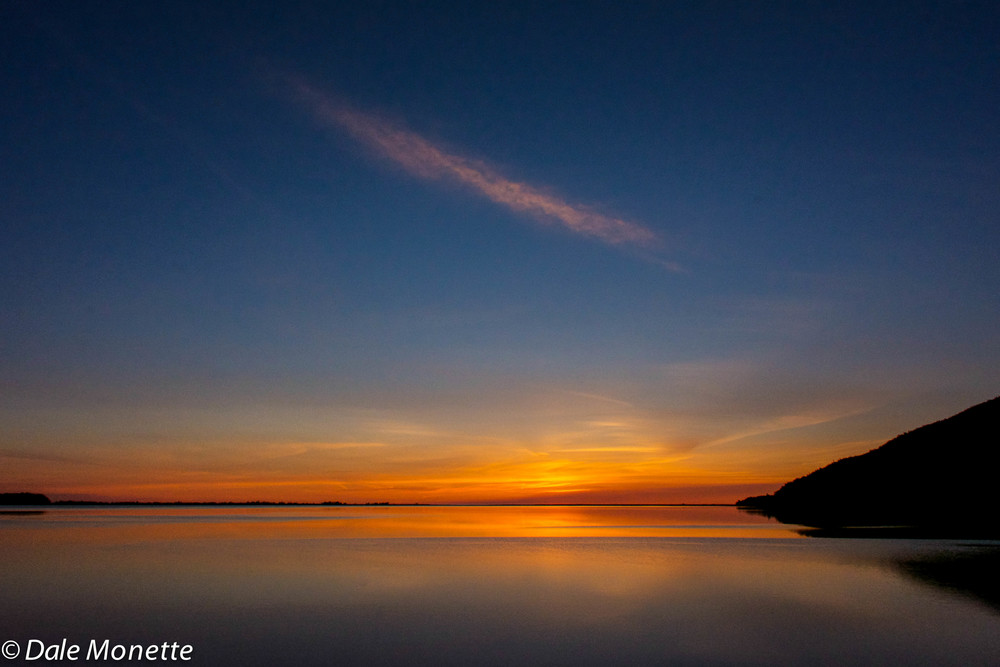 Sunrise, Aspy Bay, Cape Breton Island, Nova Scotia.  6/8/15