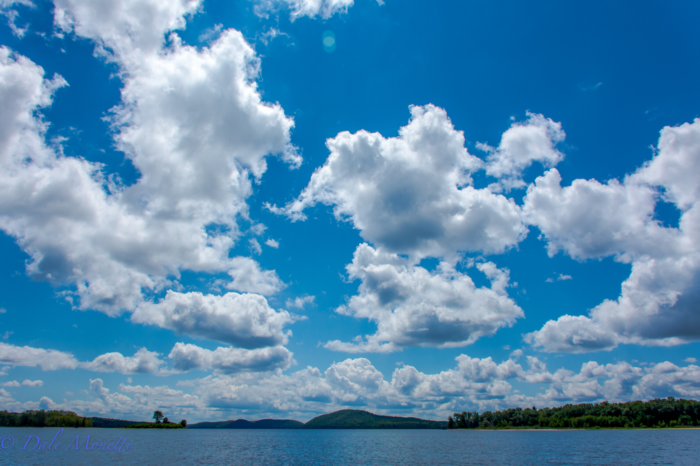 HUGE sky today at Quabbin.  8/12/15