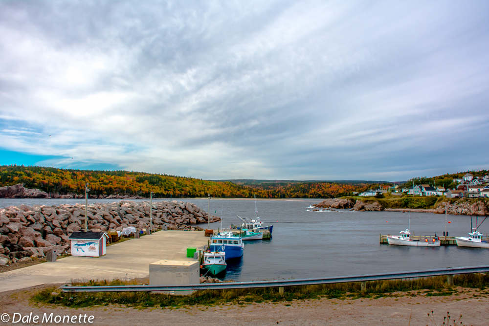 "Neil""s Harbour, Cape Breton, Nova Scotia, 10/16/15"