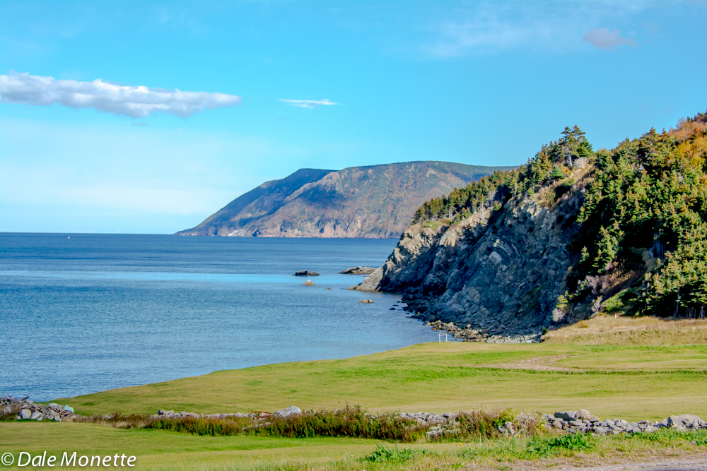 This is Money Point looking at it's west side just above Bay St. Lawrence.  10/16/15