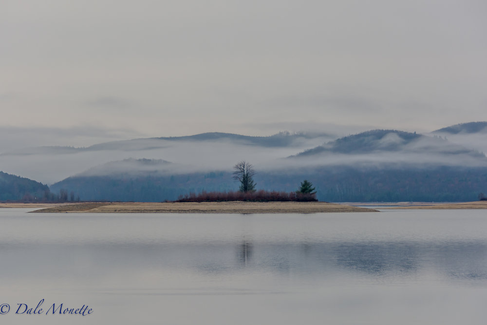 Early morning fog at Quabbin....  11/30/16