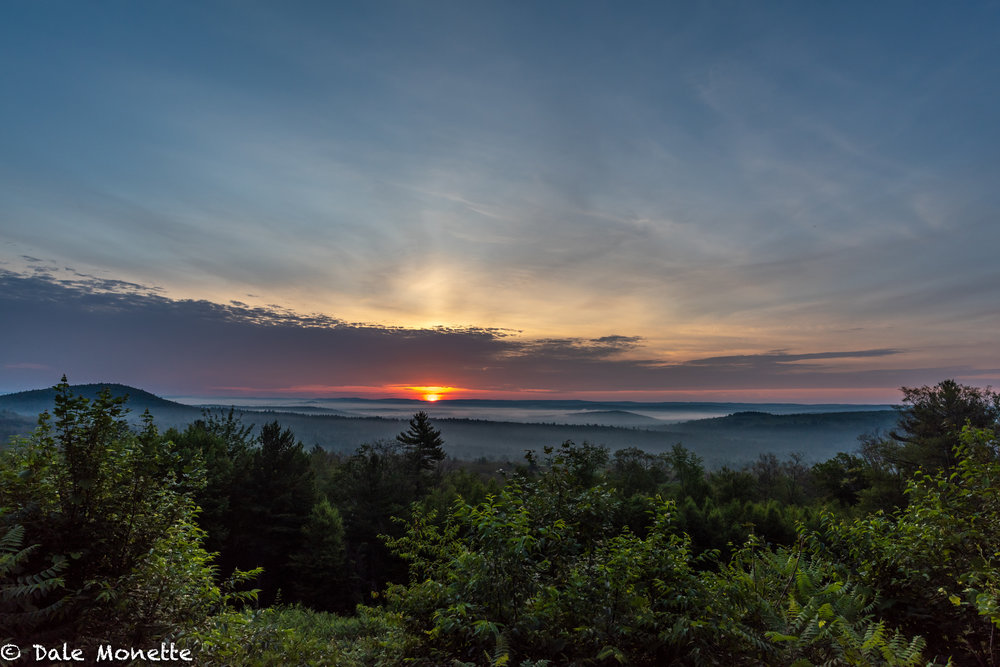 Its been a while since I took a sunrise image !  New Salem Lookout,  6/30/18.