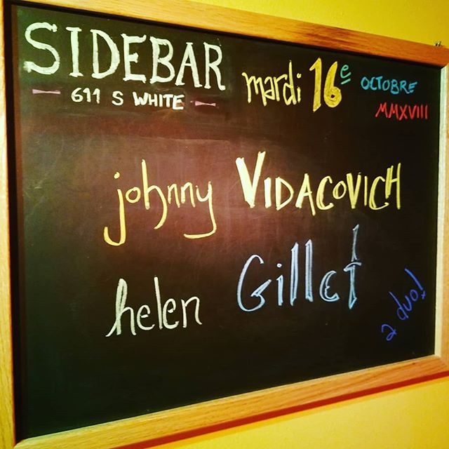 Thanks to all who came out last night! #nola #livemusic #sidebarnola