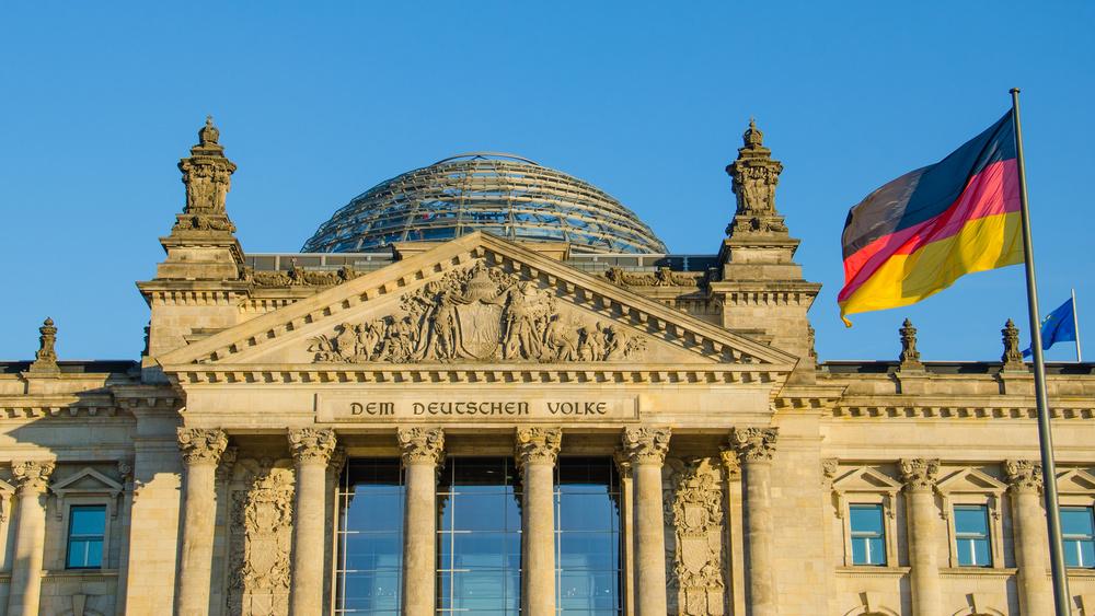 Reichstag the German Parliament in Berlin