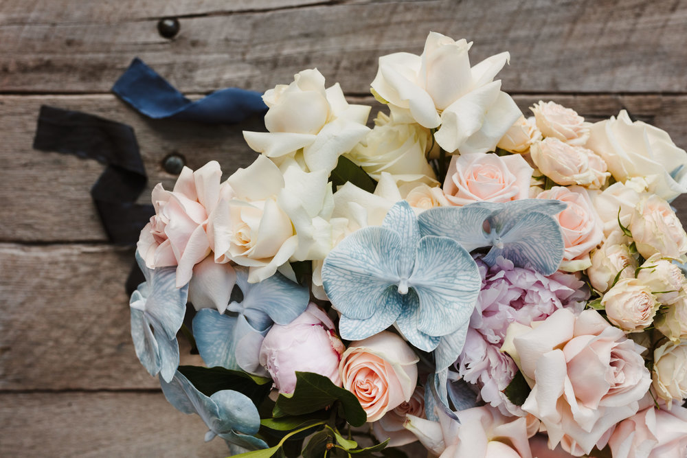 An unexpected and stunning palette of orchid and rose. Photograph by Hilary Cam.