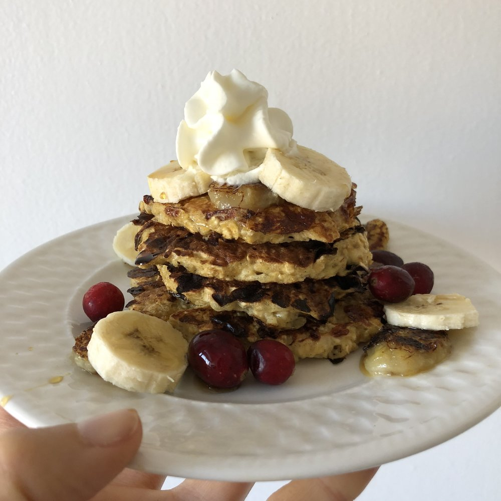 Cottage Cheese U0026 Oatmeal Pancakes