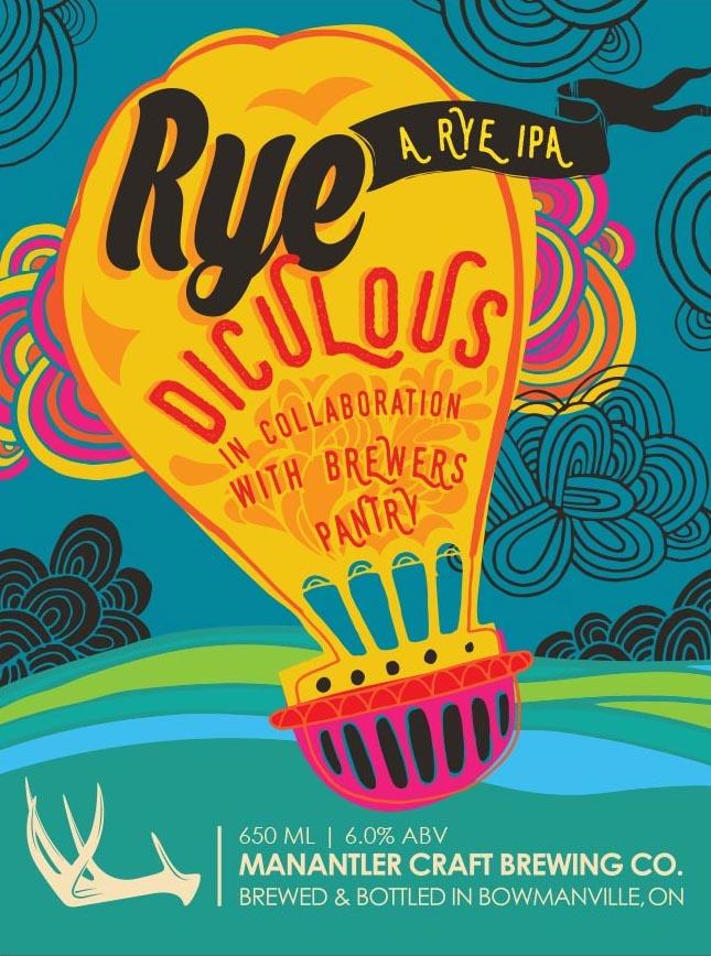 RYE DICULOUS - Rye IPA