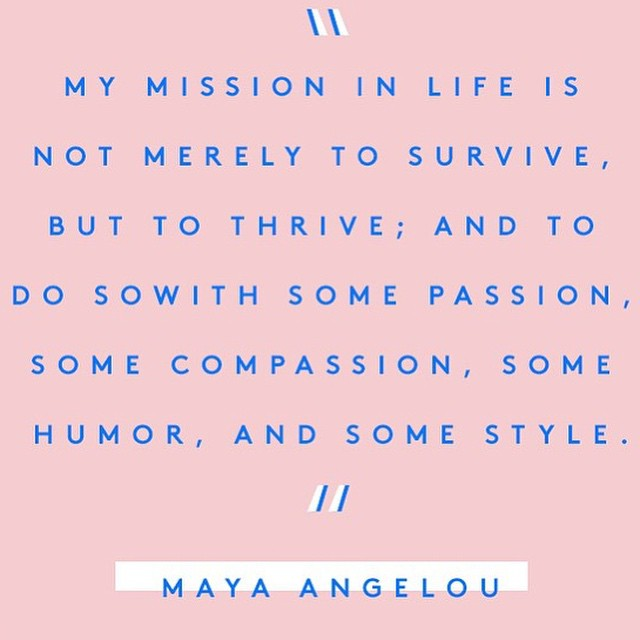 #so #it #is #my #life #my #mission #to #thrive #passion #compassion #humor #and #style #pink #smile  #inspirerad  #inspiration  #inspirationbygalina  #words  #text  #tellings #true #citat #quotes
