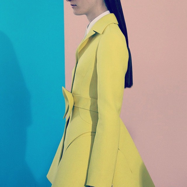 #fashion #style #cote #yellow #design #art #pink #blue #backdrop #photoshoot #model #inspiration #create #lightness #summer #try #it #it #fits #you