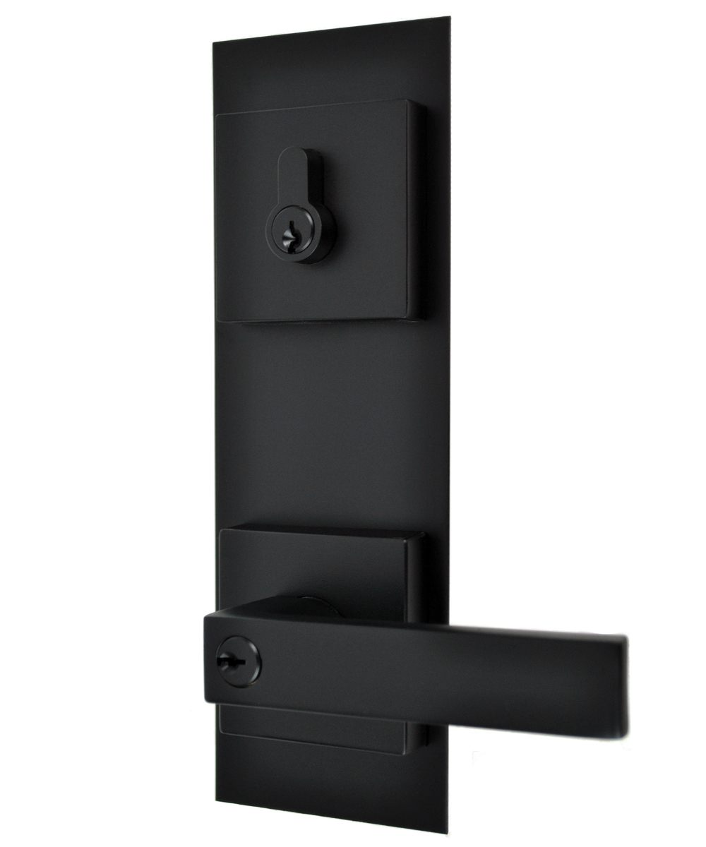 black front door hardware. lonsdale entrance combination set with trim black front door hardware