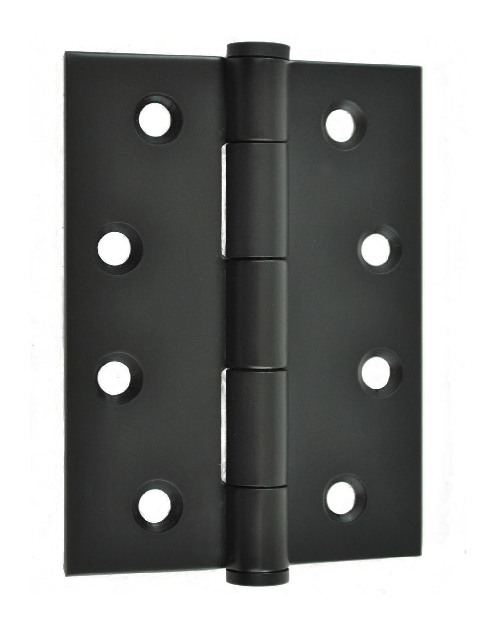 Hinge 100x75mm Matte Black