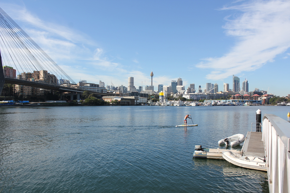 Backwattle Bay Cafe Whalf. Photo By Annandale Boat Hire