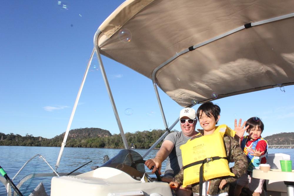 boat hire hawkesbury river