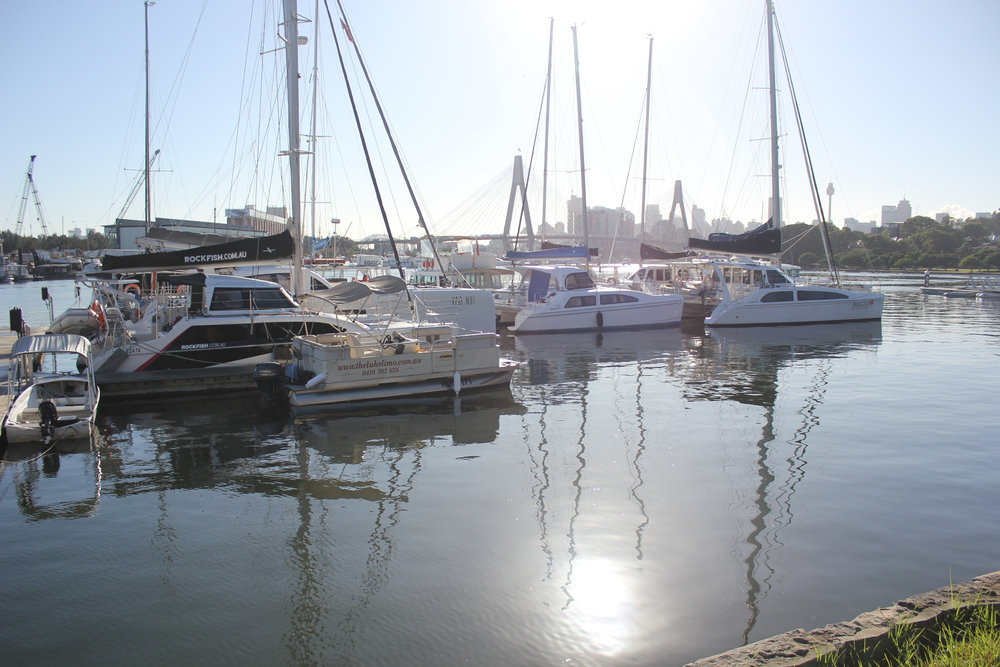 Sydney Marina close to Sydney CBD