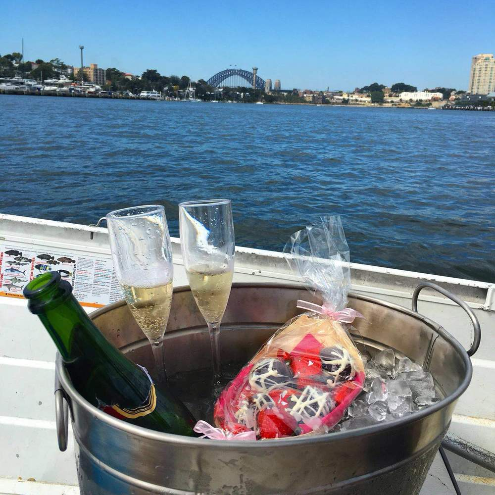 Romantic sydney boat tour